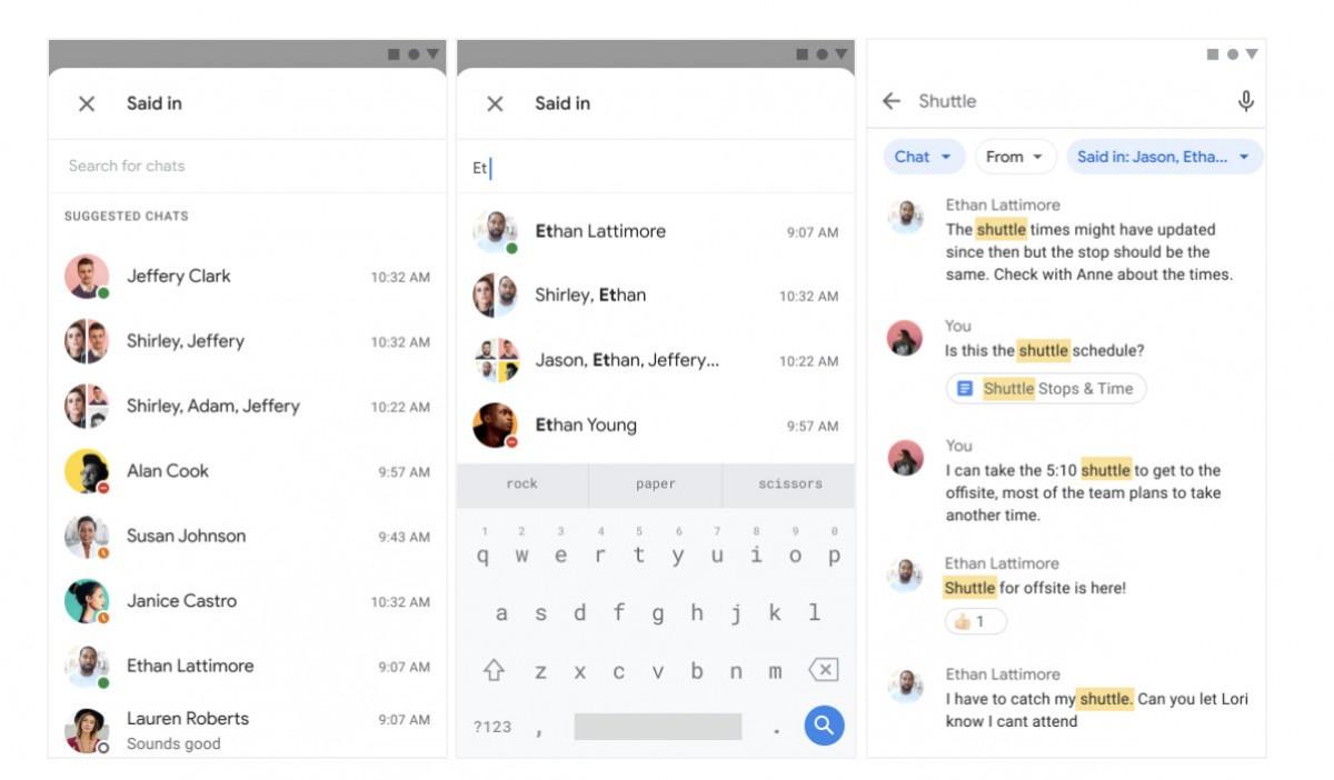 Google Chat #1