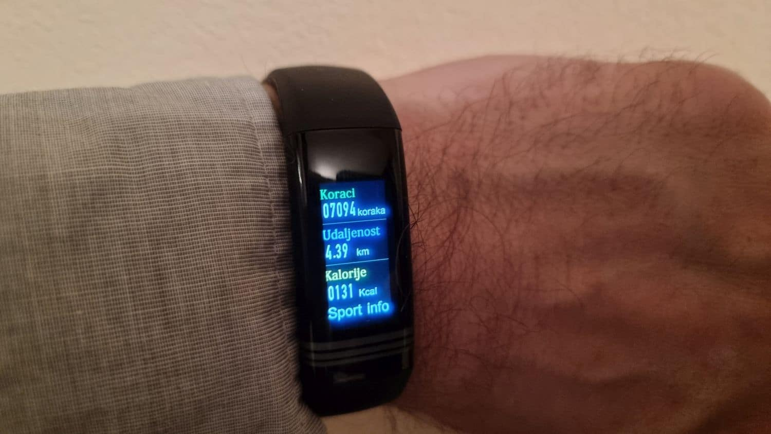 meanIT Smartwatch M10 Termo 1