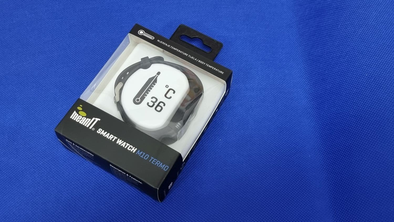 meanIT Smartwatch M10 Termo 2