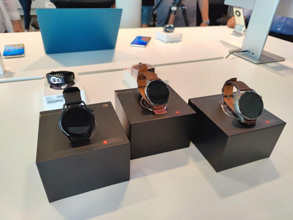 Huawei Watch 3 Pro i Watch 3
