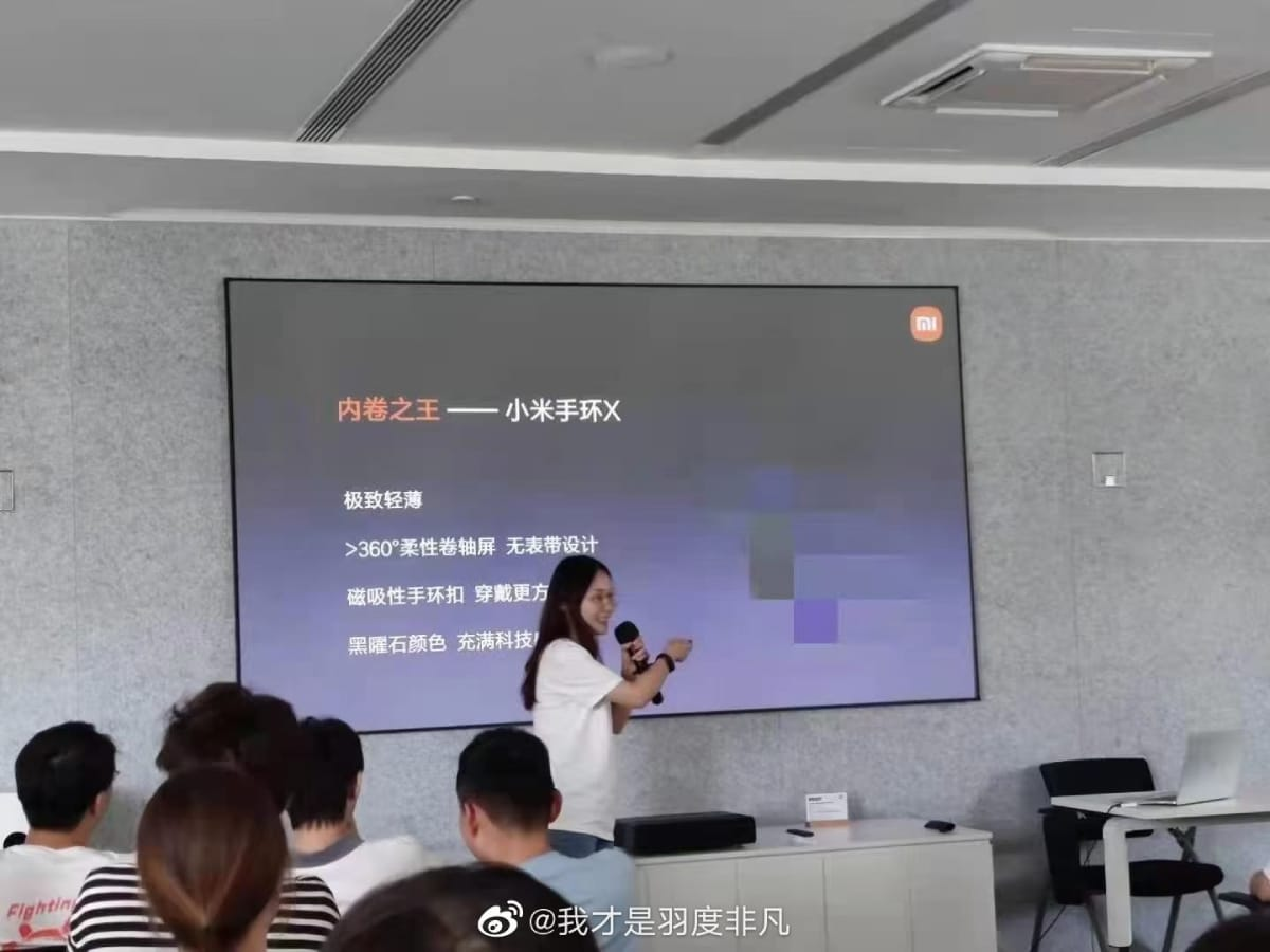 Xiaomi Mi Band X #1