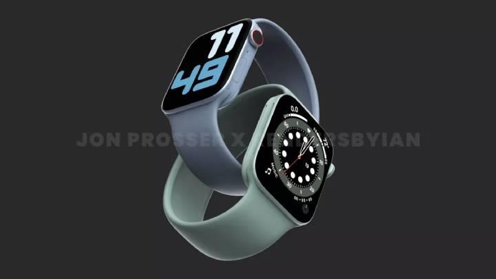 Apple Watch 7 Render #2