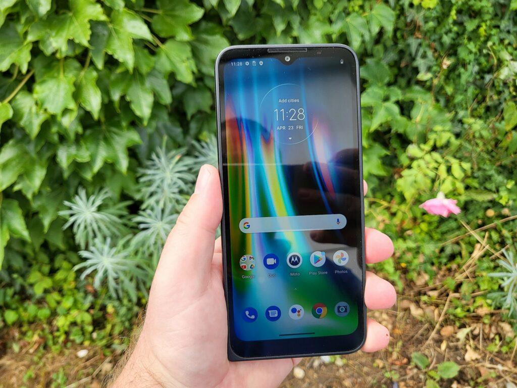 Motorola Defy ekran