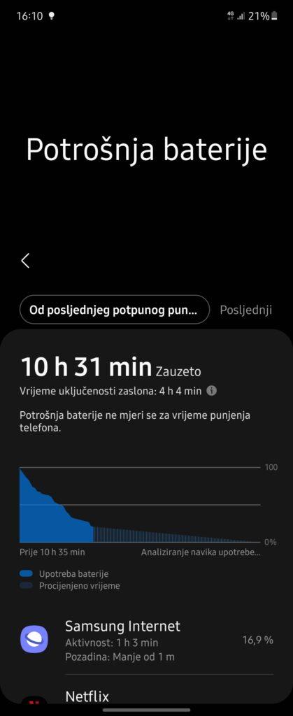 Samsung Galaxy Z Flip3 5G baterija 2