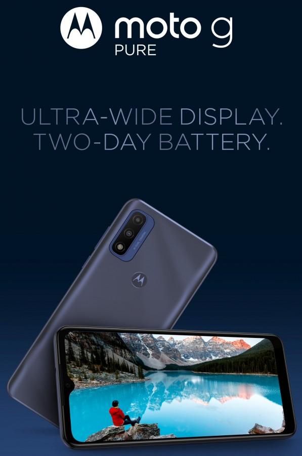 Motorola G pure #