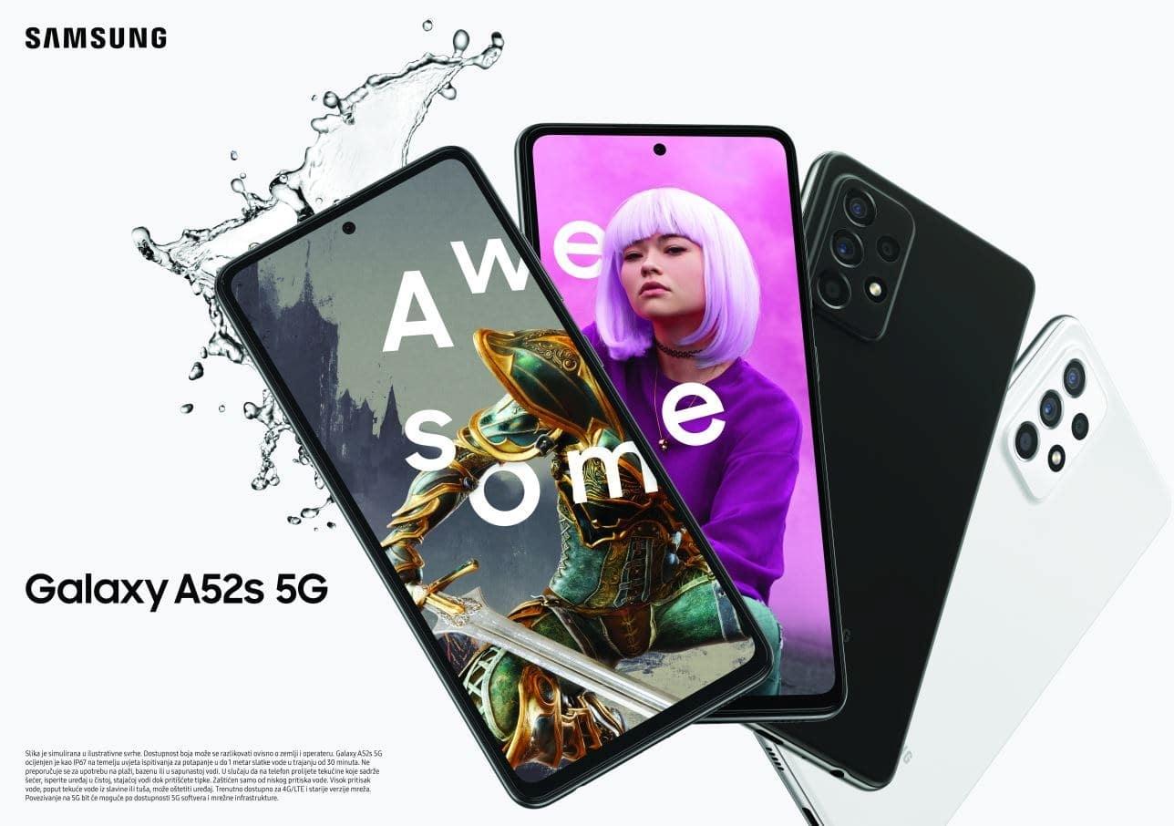 HR Galaxy A52s