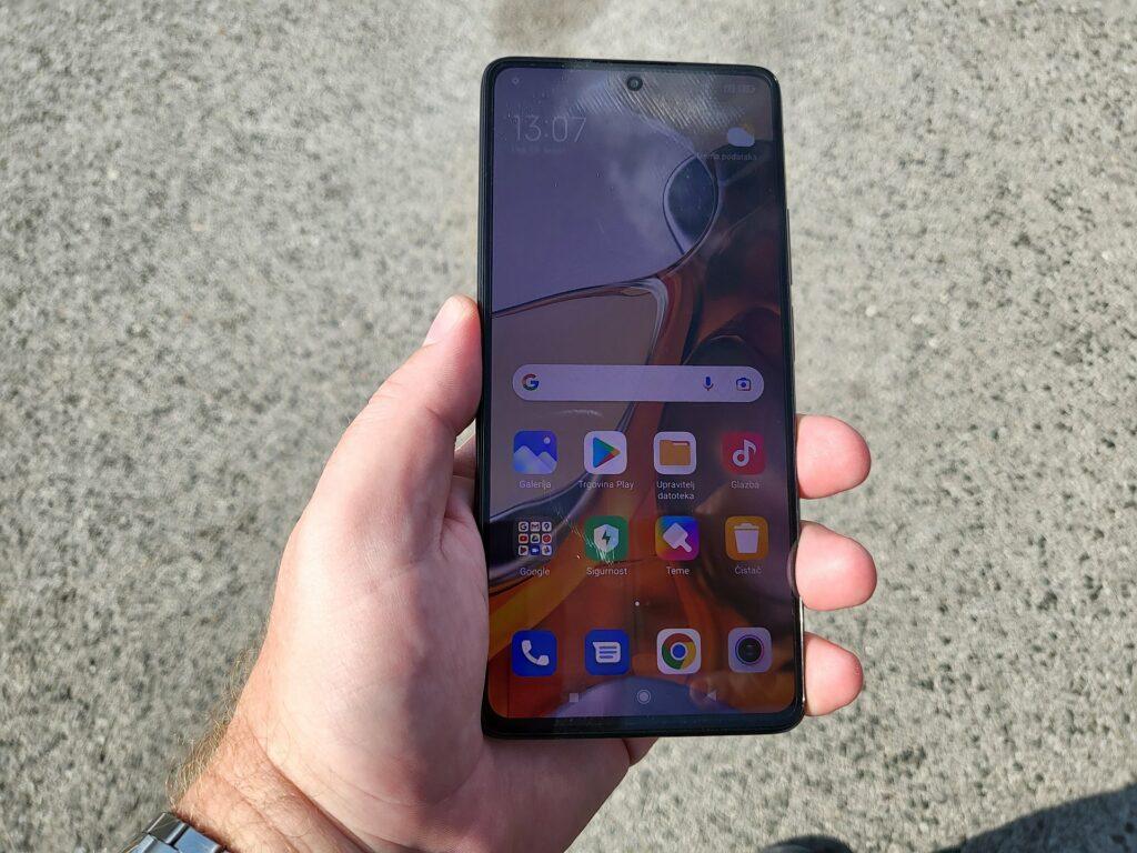 Xiaomi 11T Pro čitljivost na suncu
